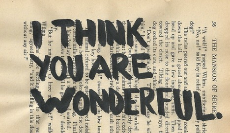 i think you are wonderful