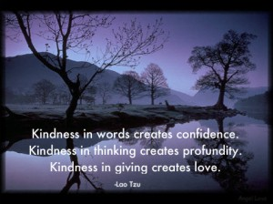 kindness confidence