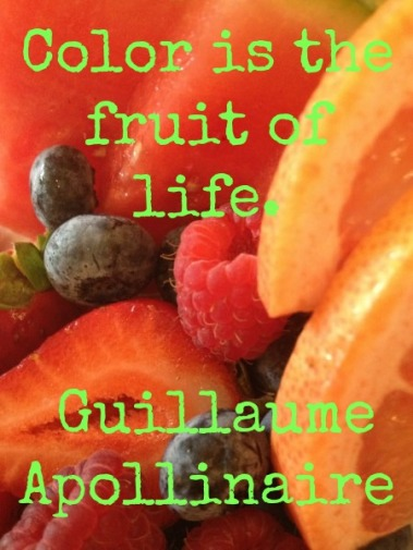 color. fruit of life