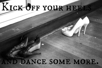 kick off your heels